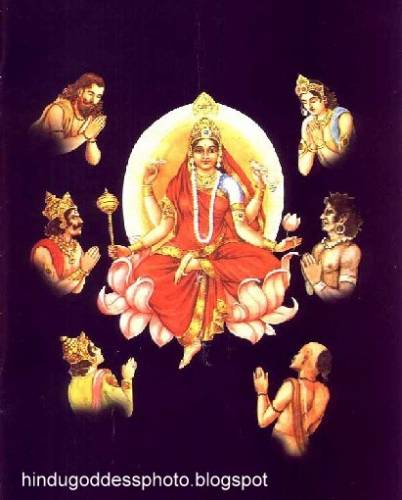 Siddhidatri Devi Image
